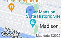 Map of Madison, IN